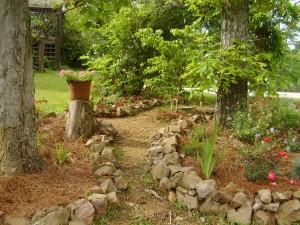 Path in the Flower Garden